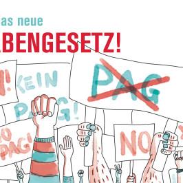 Aufruf zur Demobeteiligung gegen das PAG!