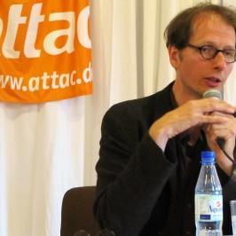 """28.11. Vortrag: """"Chaos. Das neue Zeitalter der Revolutionen"""" – Fabian Scheidler"""